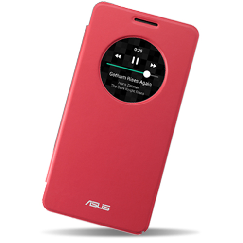 ASUS ZenFone 6 原廠視窗皮套(嗆辣紅)