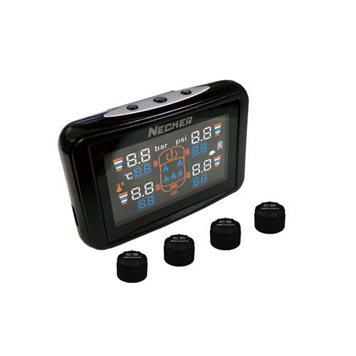 《育誠科技》實體店面/送3孔擴充『耀星 NECKER TPC 胎外式』無線胎壓胎溫偵測器/LCD彩屏版/羽量級感應器