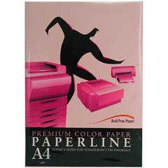 【影印紙】140 / 80P / A4  玫瑰紅 進口影印紙 (500張/包)
