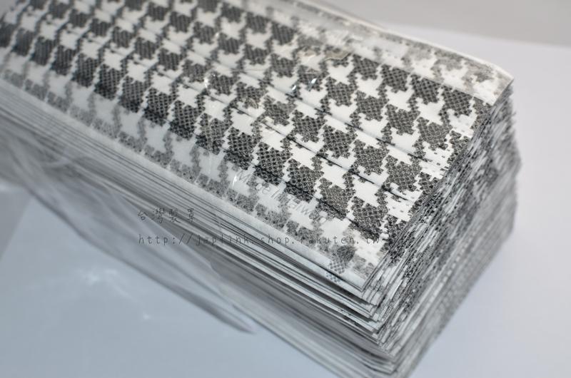 ㊝台灣製罩㊝ 傳統型平面拋棄式口罩-千鳥格黑白配(50片/包)