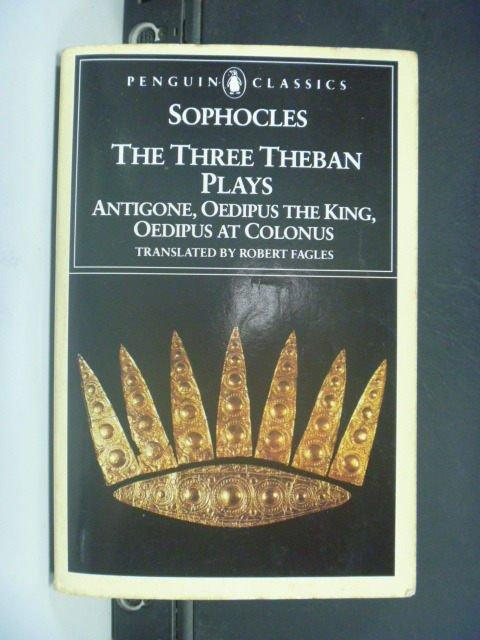 【書寶二手書T8/原文小說_GHZ】The Three Theban Plays_SOPHOCLES