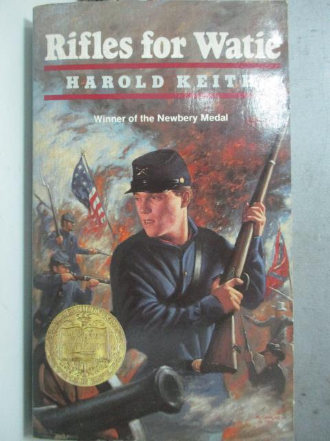 【書寶二手書T1/原文小說_ODM】Rifles for Watie_Keith, Harold