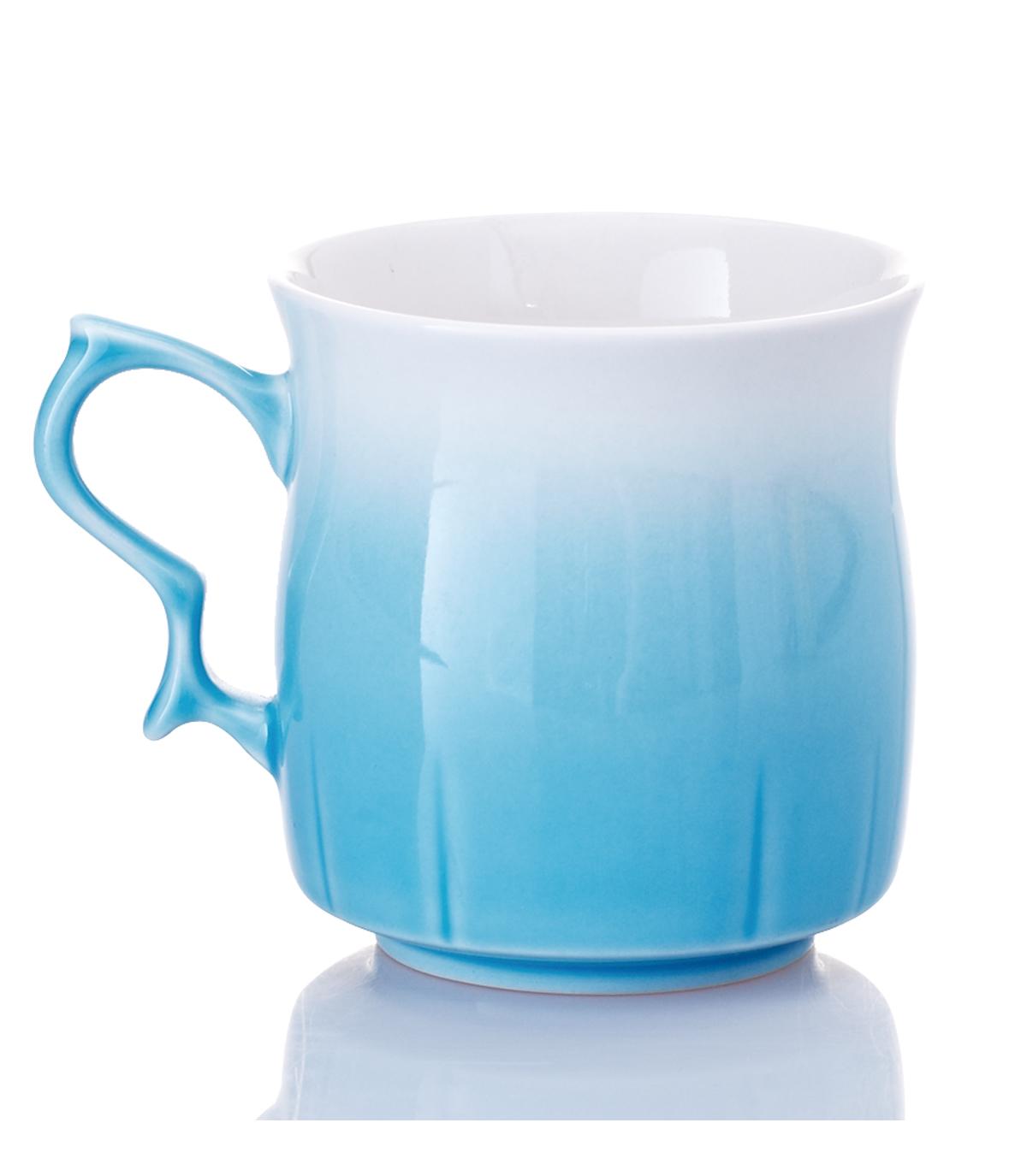 乾唐軒活瓷 ‧甜心杯 ( 白藍 )