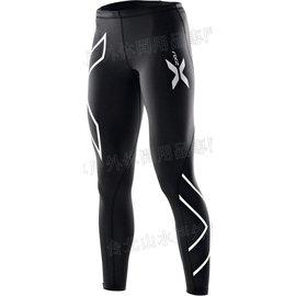[ 2XU ] 澳洲 Compression Tights 運動緊身機能褲/加壓緊身褲//壓縮褲 XForm系列 女款黑銀 WA1968b