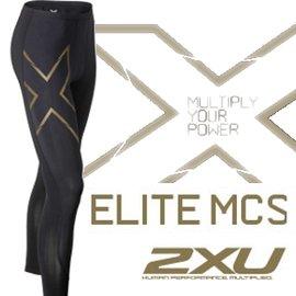 [ 2XU ] 路跑/馬拉松/腳踏車/登山/滑雪/慢跑褲/壓縮褲 Elite MCS 緊身褲 穴道壓縮新版 男 MA3062b