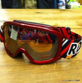 雪鏡/滑雪/雪訓/風鏡 Rooly Goggle 小朋友/兒童款 珍珠紅