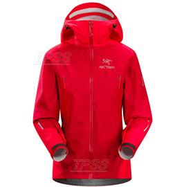 [ Arcteryx 始祖鳥 ] 12958 Beta FL Gore Tex Active Shell 女款 輕量型防風防水透氣風雨衣外套 石榴紅 Arc'teryx