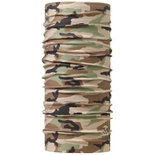 Buff 高防曬CoolMax抗UV魔術頭巾 High UV BUFF 100164 釣魚-迷彩叢林