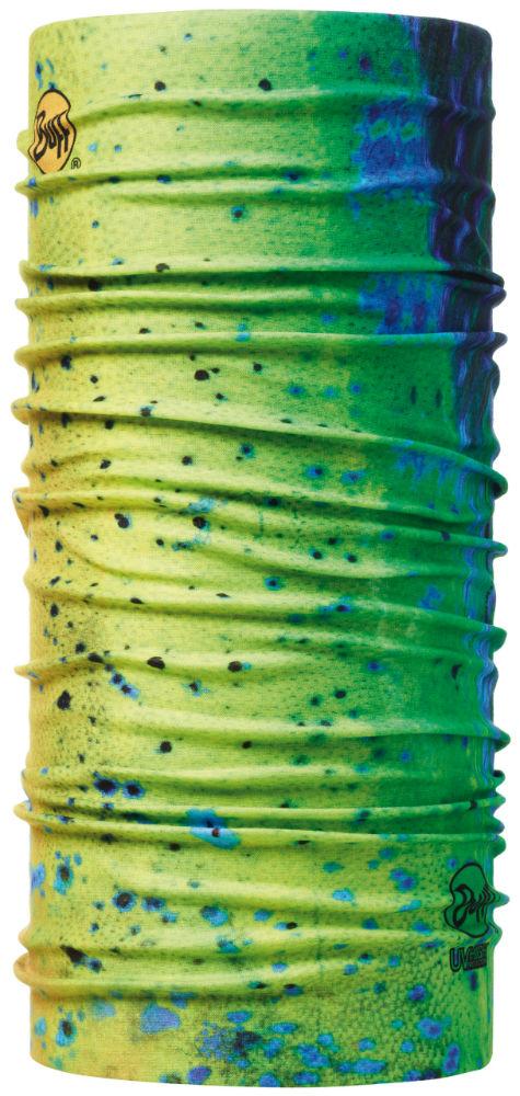 Buff 高防曬CoolMax抗UV魔術頭巾 High UV BUFF 100167 釣魚-海上藍眼淚