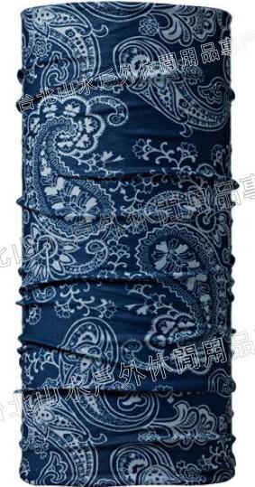 [ Buff ] 游龍戲鳳-藍 ORIGINAL 西班牙魔術頭巾 經典排汗抗菌萬用頭巾 100674