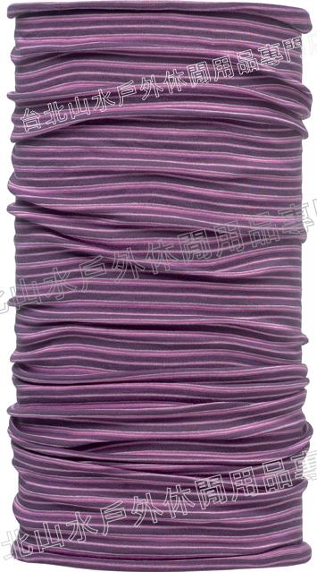 [ Buff ] 紫色線條  ORIGINAL 西班牙魔術頭巾 經典排汗抗菌萬用頭巾 織色 105656