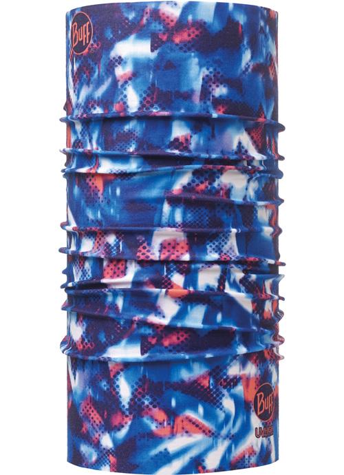Buff 高防曬CoolMax抗UV魔術頭巾 High UV BUFF 111711-707 藍紅迷艷