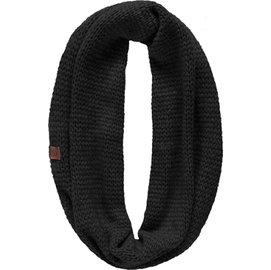 [ Buff ] 圍巾/頸圍/旅遊/滑雪/羊駝/手織感純色羊毛圍巾 Stream 1662-999 黑