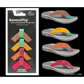 [ Chaco ][ 美國佳扣 ] Reversiflip 女款百變織帶運動涼鞋/夾腳拖 熱情盛夏合購組