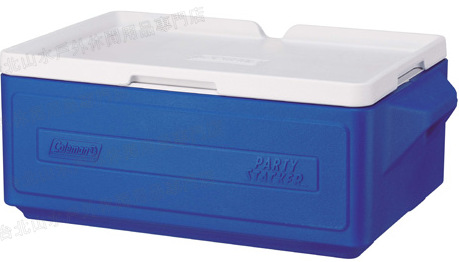 [ Coleman ] 置物型冰桶/行動冰箱/可堆疊好攜帶 CM-1326J 藍 23.5L