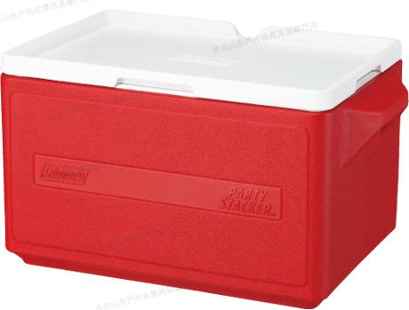 [ Coleman ] 置物型冰桶/行動冰箱/可堆疊好攜帶 CM-1329 紅 31L