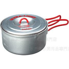 [ EVERNEW ] 超輕量鈦鍋 0.9L 日本製 ECA252R Titanium Ultra-Light 2
