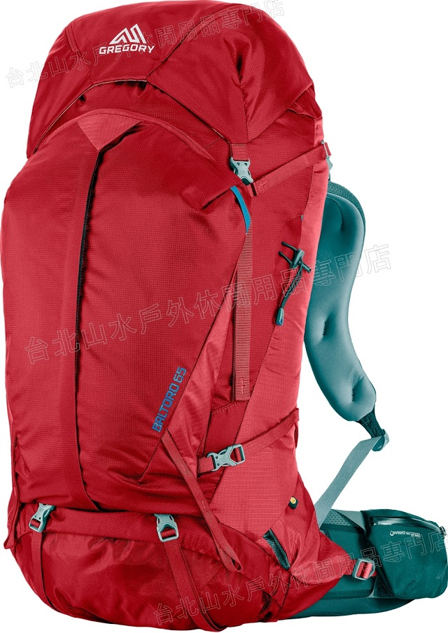 [ Gregory ] 後背包/登山背包/背包客/背包/健行 Baltoro 65 登山包 75119 紅