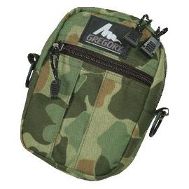 [ Gregory ] Quick pocket M 日系街包/側背包/腰掛包/多功能外掛包 二戰迷彩_72604