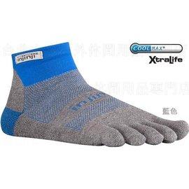 [ Injinji ] RUN 吸濕排汗五指短襪/五指襪/跑步襪 Coolmax 跑步越野系列 OW Mini-crew 海軍藍