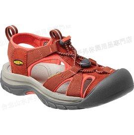 [ KEEN ] 涼鞋/運動涼鞋/護趾涼鞋/拖鞋 Venice H2 女 1010974 棗紅