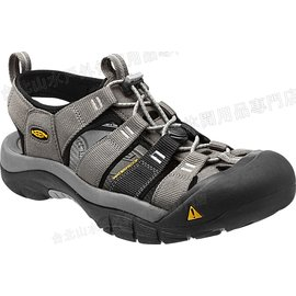 零碼特價[ KEEN ] 涼鞋/運動涼鞋/護趾涼鞋/拖鞋 Newport H2 男 1012204 淺灰/黑