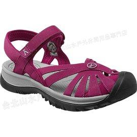 [ KEEN ] 涼鞋/運動涼鞋/護趾涼鞋/拖鞋 Rose Sandal 女 1012545 酒紅灰