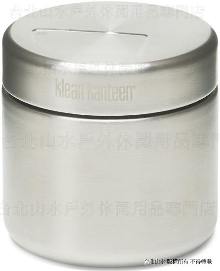 [ Klean Kanteen ] 美國KK可利鋼瓶 K8CANSSF 不鏽鋼食物罐/儲物罐/保鮮罐/儲豆罐/茶葉罐 8oz(236ml) 單層基本款
