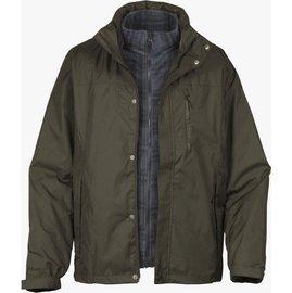 六折特價Lafuma 防水外套/兩件式雪衣/保暖大衣 男款 Donegal 滑雪/旅遊必備 LFV8518b-5582 香根草綠