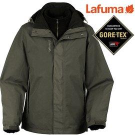 六折特價Lafuma Gore-Tex防水外套/兩件式雪衣/保暖大衣 男款 Jaipur 出國/滑雪/旅遊 LFV8515-5582 香根草綠
