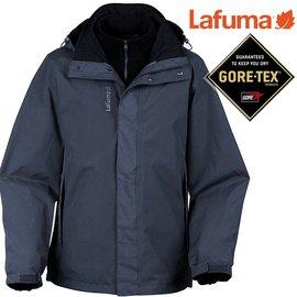 六折特價Lafuma Gore-Tex防水外套/兩件式雪衣/保暖大衣 男款 Jaipur 出國/滑雪/旅遊 LFV8515-5605 皇冠藍