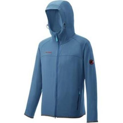Mammut 長毛象 防風軟殼外套/軟殼衣/登山外套 SOFtech Granite H 1010-22380-5713 太平洋藍
