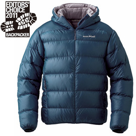 [ Mont-Bell ] Light Alpine 800FP 高保暖超輕鵝絨 連帽羽絨外套/羽絨衣 男款 1101361-DKMA 深藍色 montbell