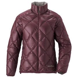 [ Mont-Bell ] Light Alpine 800FP 高保暖超輕鵝絨 羽絨外套/羽絨衣 女款 1101360-BURG 紅棕色 montbell