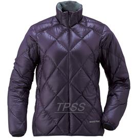 [ Mont-Bell ] Light Alpine 800FP 高保暖超輕鵝絨 羽絨外套/羽絨衣 女款 1101360 EP 茄紫 montbell