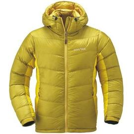 [ Mont-Bell ] 頂級鵝絨800FP BOX 立體隔間 連帽羽絨衣 羽毛衣 雪衣 女款 1101408 OYLD 黃色 montbell
