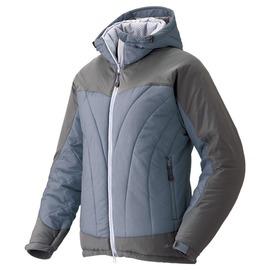 [ Mont-Bell ] Exceloft 人造羽毛/雪衣/化纖連帽保暖外套 女款 1101325 GY/LV 淡紫 montbell