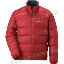 [ Mont-Bell ] Light Alpine 800FP 高保暖超輕鵝絨 羽絨外套/羽絨衣 男款 1101428-PAPRI 椒紅 montbell