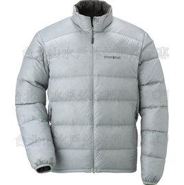 [ Mont-Bell ] Light Alpine 800FP 高保暖超輕鵝絨 羽絨外套/羽絨衣 男款 1101428-SKGY 天灰 montbell