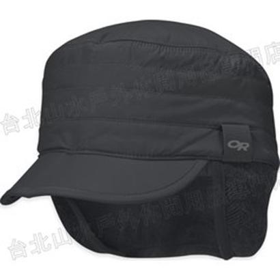 [ Outdoor Research ] Inversion Radar Cap 化纖保暖遮耳帽 登山帽/毛帽/美麗諾羊毛耳罩 OR 243651 243651 001黑色