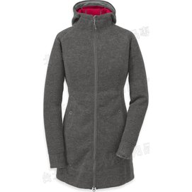[ Outdoor Research ] Salida 保暖刷毛長大衣/針織羊毛外套/連帽刷毛外套 女款 90915 灰桃紅