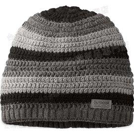Outdoor Research Sueno 美麗諾羊毛針織保暖帽/毛帽/毛線帽 243674 0189 黑灰
