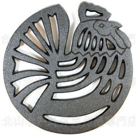 [ Old Mountain ] 鑄鐵造型隔熱墊/炭床/荷蘭鍋墊 鄉村雞 10189 美國 Rooster Trivet