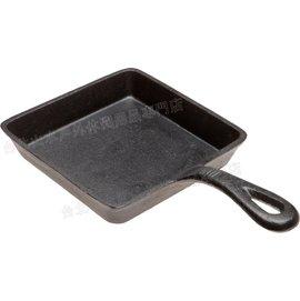 Old Mountain 鑄鐵平底鍋/煎盤/鑄鐵吐司煎鍋/Lodge可參考 方型5吋 10106