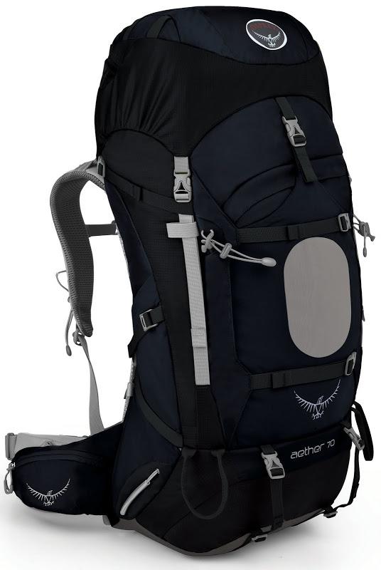[ Osprey ] Aether 70 蒼穹 輕量專業登山健行大背包  Midnight Blue 藍色 附原廠背包套