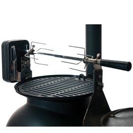 [ Ozpig ] 澳洲黑皮豬 燒烤達人套件組/自動烤雞旋轉架 OzPig Rotisserie