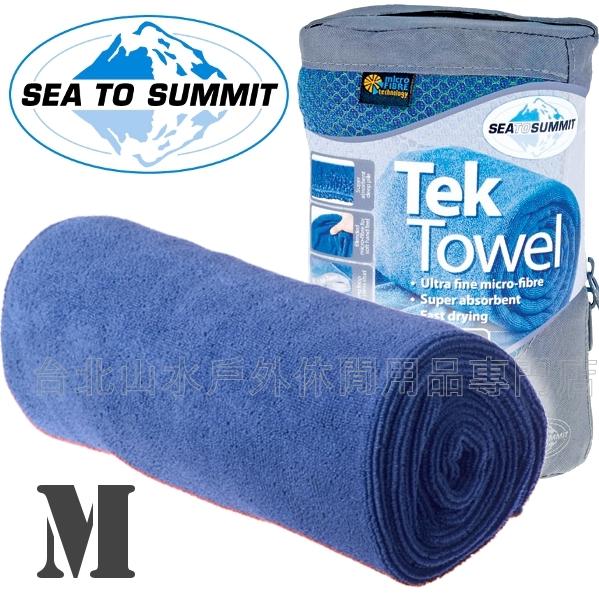 [ Sea to Summit ] Tek Towel M 舒適快乾毛巾 ATTTEKMC 豔藍