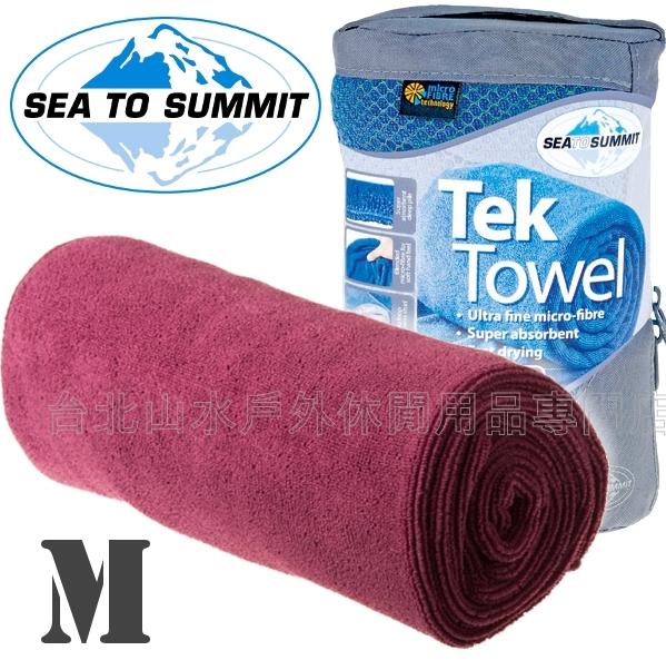 [ Sea to Summit ] Tek Towel M 舒適快乾毛巾 ATTTEKMBE 桃紅