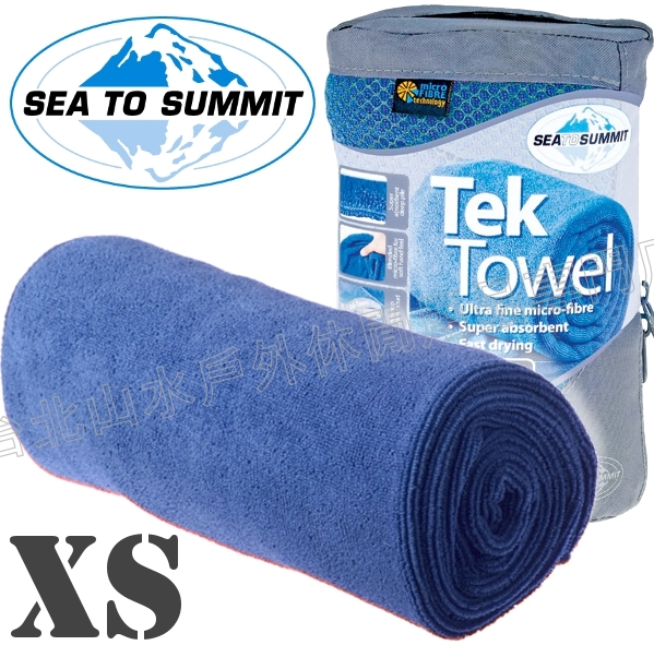 [ Sea to Summit ] Tek Towel XS 舒適快乾毛巾 ATTTEKXSC 豔藍