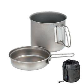 [ Snow Peak ] 登山套鍋/鋁合金鍋組 900ml 單鍋單蓋兩件組 SCS-008
